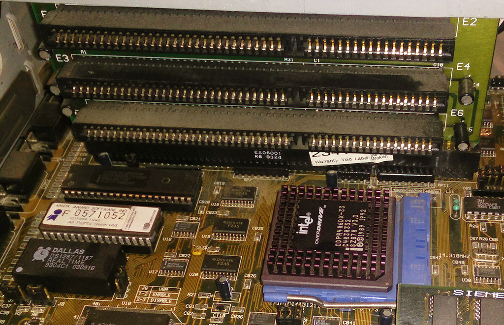 Motherboard and ISA BUS